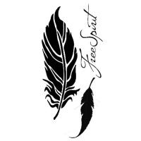 Feathers - Stencil - Stamperia