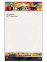 "Alcohol Ink YUPO Cardstock 5"" x 7"""