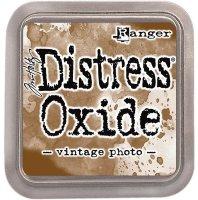 distress oxide ink - vintage photo