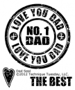 Dad Seal - Stempel