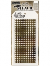Grid Dot Layering - Tim Holtz - Stencil