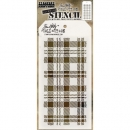 Plaid Layering - Tim Holtz - Stencil