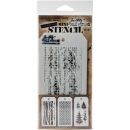 Mini Stencil Set 21 - Tim Holtz