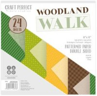 "Craft Perfect - Woodland Walk - 6""x6"""