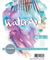 WaterArt - Aquarellpapier A6 - 300g