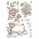 Antique Roses - Stempel - Wild Rose Studio