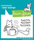 Winter Fox - Stempel