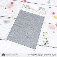 Woodgrain Cover Mama Elephant