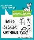 Year Two - Clearstamps - Lawn Fawn